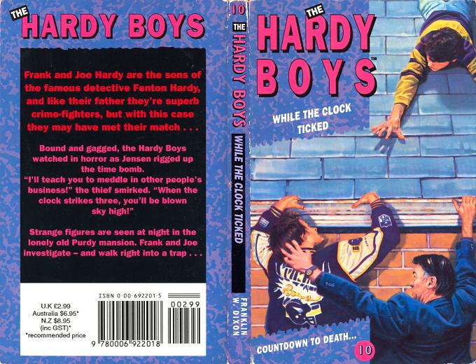 10 While The Clock Ticked Hardyboys Co Uk