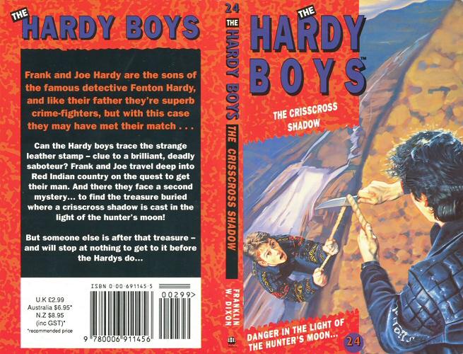 The Crisscross Shadow (The Hardy Boys, No. 32) by Dixon, Franklin W.